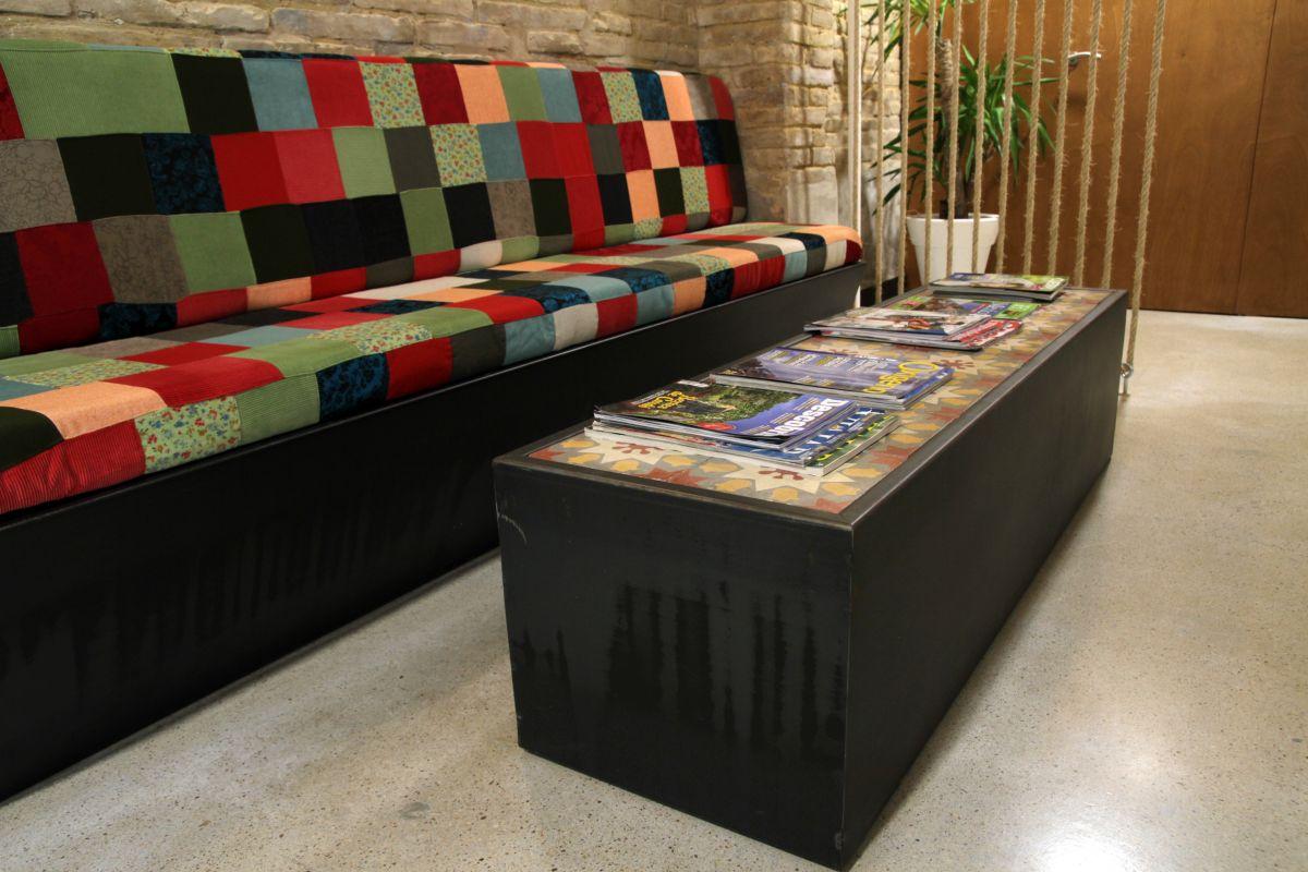 centro de osteopatía, hidràulica, hidràulica disseny, interiorisme amposta, interiorisme, disseny d'interiors, terres de l'ebre