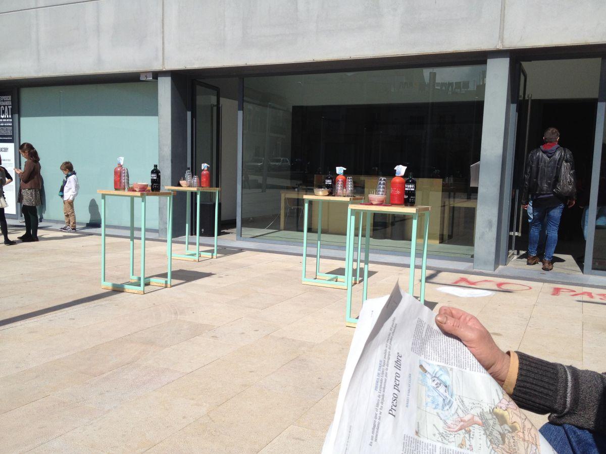 Vermouthera, Centre d'Art Lo Pati, vermut Casa mariol, estudi de disseny, hidràulica disseny, interiorismo, design, interiorisme, hidràulica, tile, mesa, mesita, mesa alta