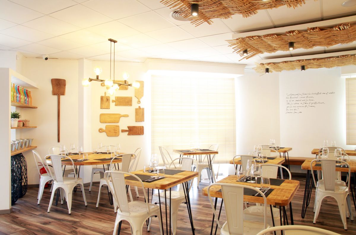 restaurante de diseño, amposta, arroz, delta de l'ebre, ebro, cañizo, calido