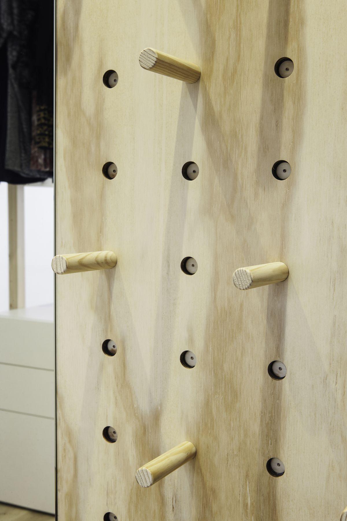 dormitori, a mida, moble, fusta, disseny, càlid, interiorisme, dissenyador, interiorista, vestidor, interior, arquitectura