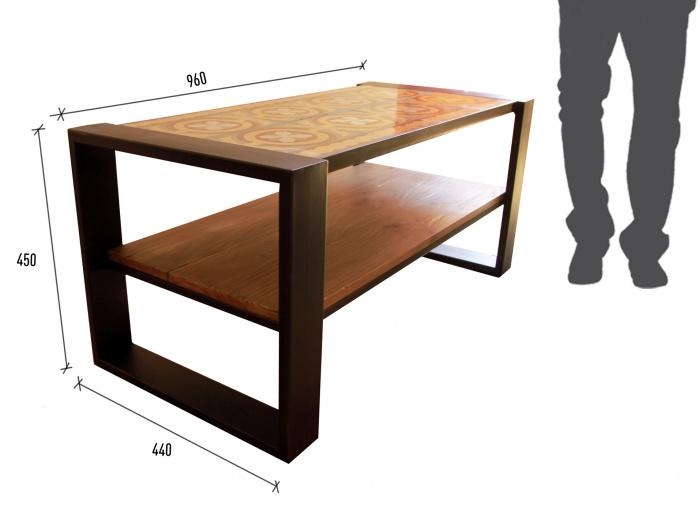 taula de centre mosaic hidràulic, mesa de centro, mosaico hidráulico